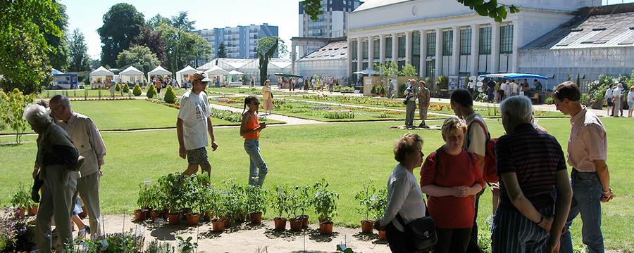 Jardin Des Plantes Orleans Metropole