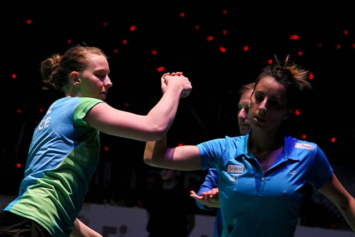 Badminton - Orléans International Challenge - finale double dames